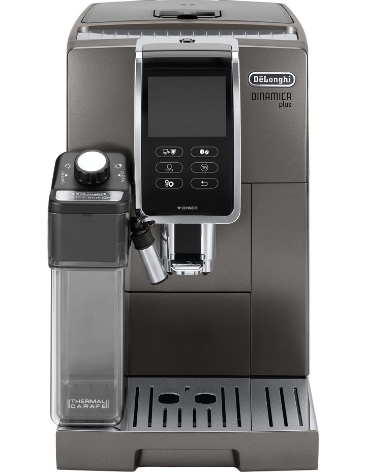 Dinamica Plus Fully Automatic Coffee Machine: Titanium ECAM37095T image 1