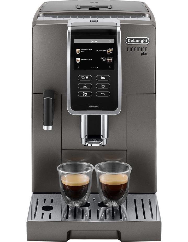 Dinamica Plus Fully Automatic Coffee Machine: Titanium ECAM37095T image 2