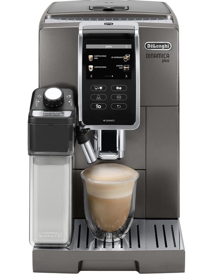 Dinamica Plus Fully Automatic Coffee Machine: Titanium ECAM37095T image 3