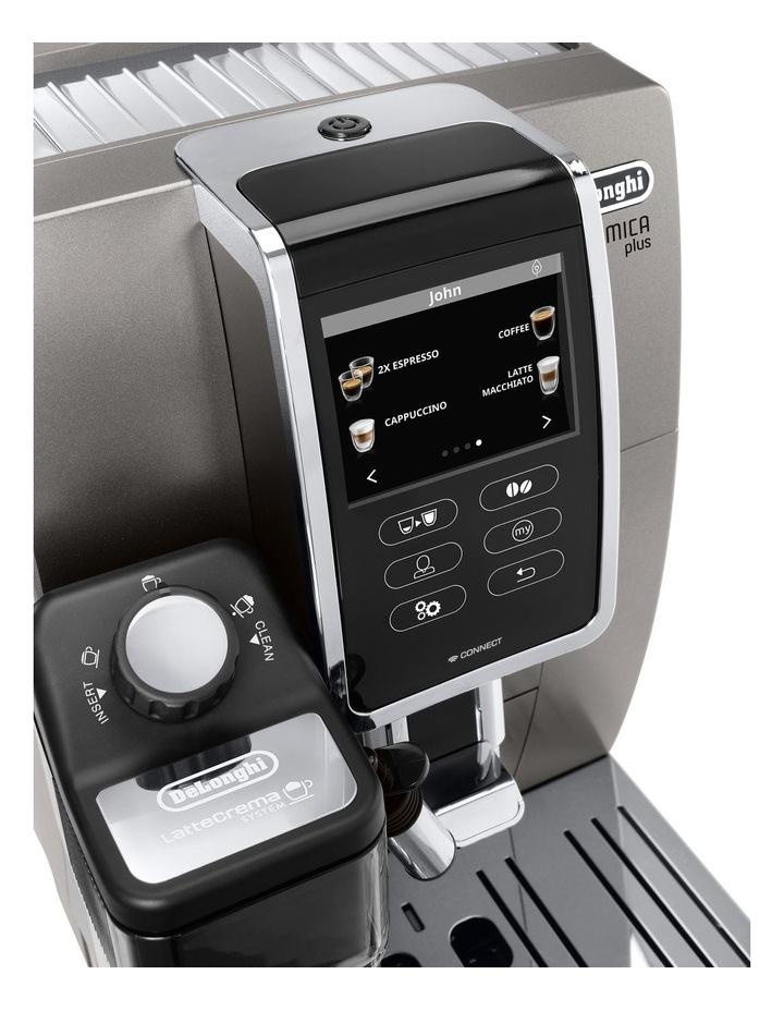 Dinamica Plus Fully Automatic Coffee Machine: Titanium ECAM37095T image 4