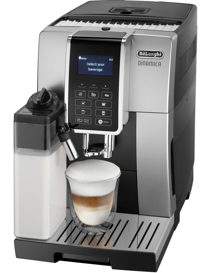Dinamica Coffee Machine Black/Silver ECAM35055SB image 2