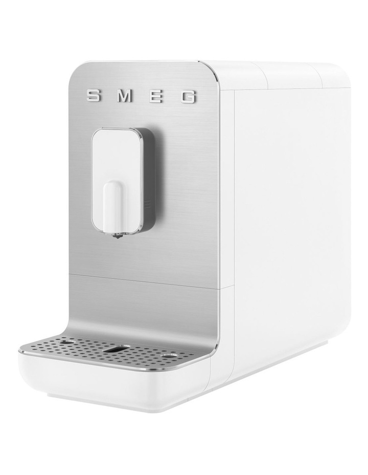 Espresso Afficionado Coffee Machine Matte White BCC01WHMAU image 3