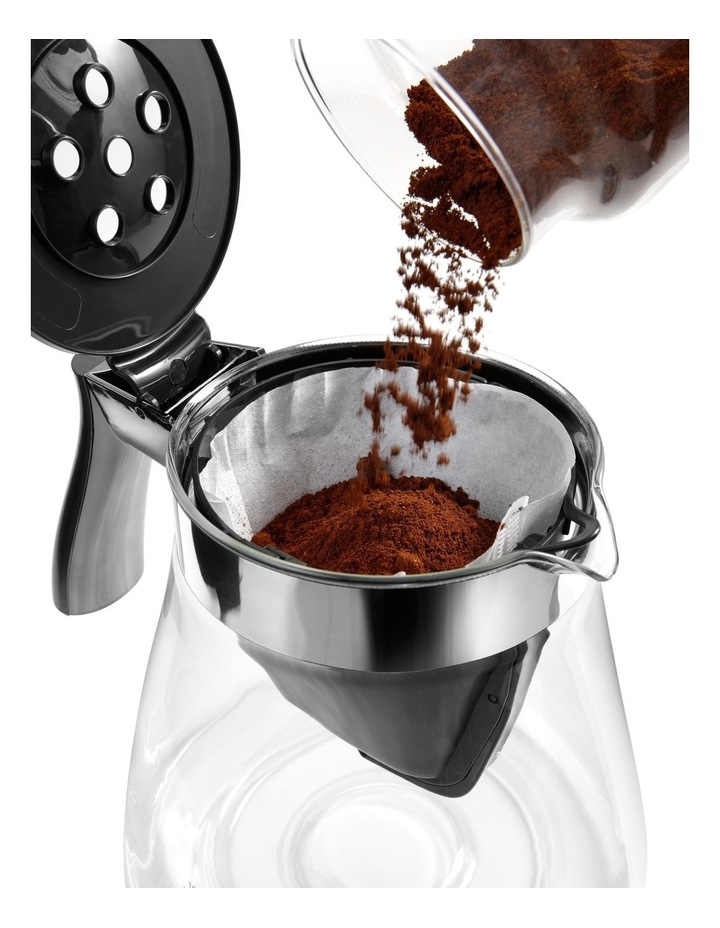 Clessidra Filter Coffee Machine Grey ICM17210 image 3