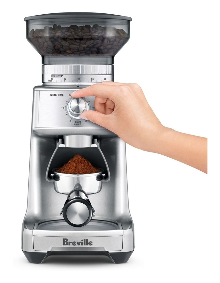 the Dose Control Pro Coffee Grinder Silver BCG600SIL image 3
