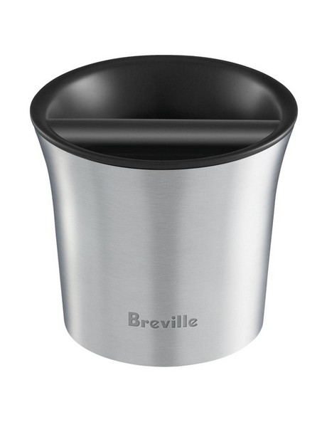 the Knock Box Coffee Grounds Bin - Stainless Steel BCB100 image 1