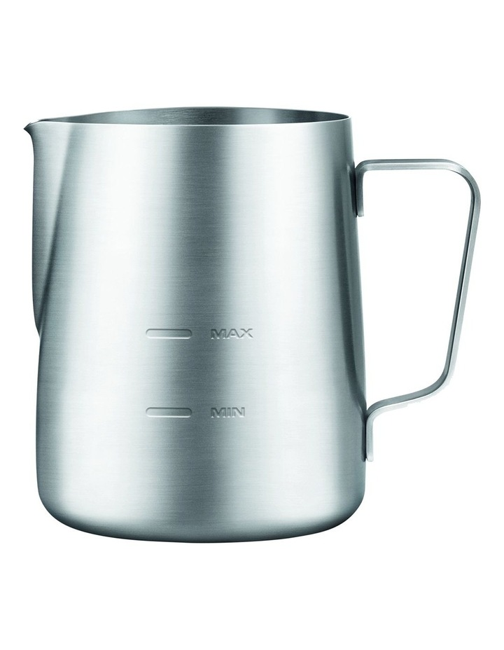 the Milk Jug Max: Brushed Stainless Steel BES480BSS image 1