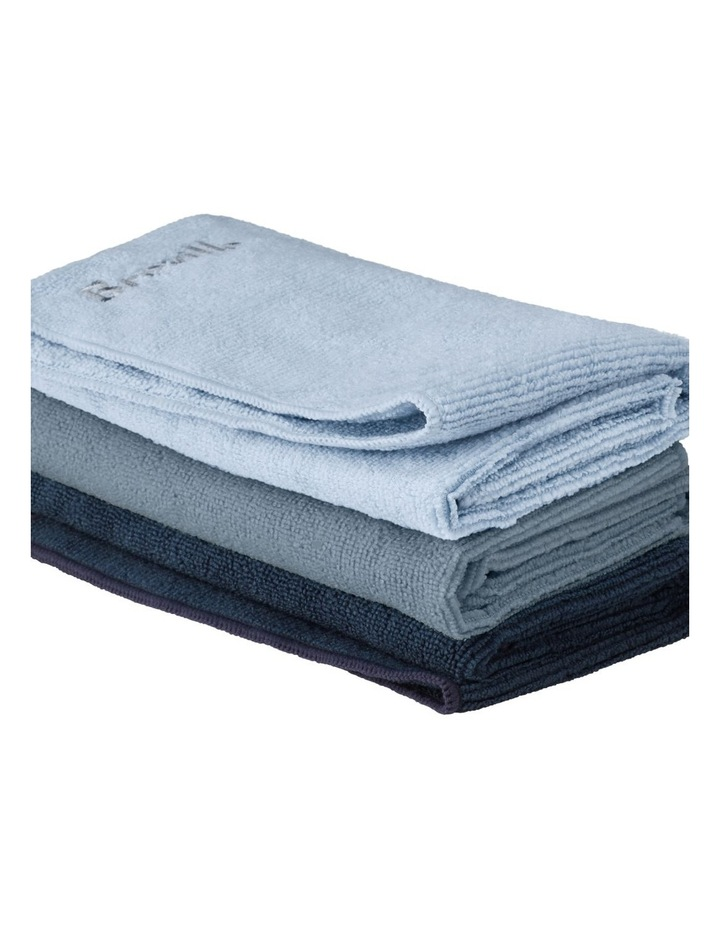 Microfibre Cleaning Cloths: 3 pack: BES040GRY image 1