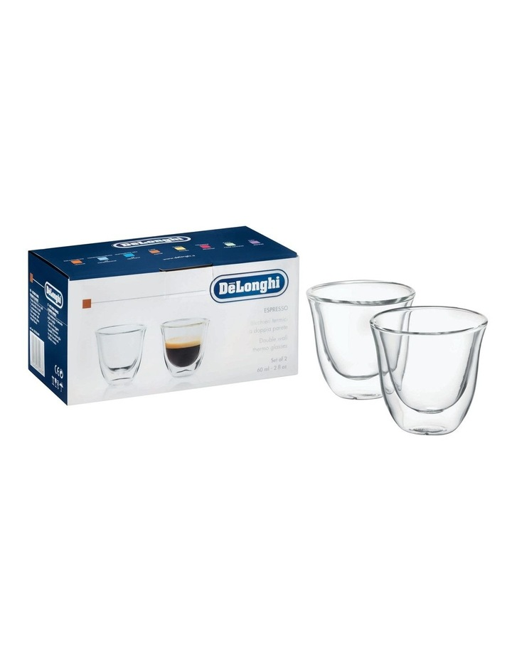 2 Espresso Glasses 60ml capacity DBWALLESP image 1