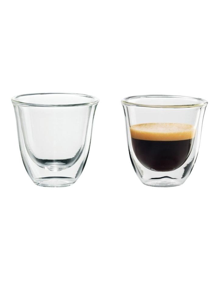 2 Espresso Glasses 60ml capacity DBWALLESP image 2