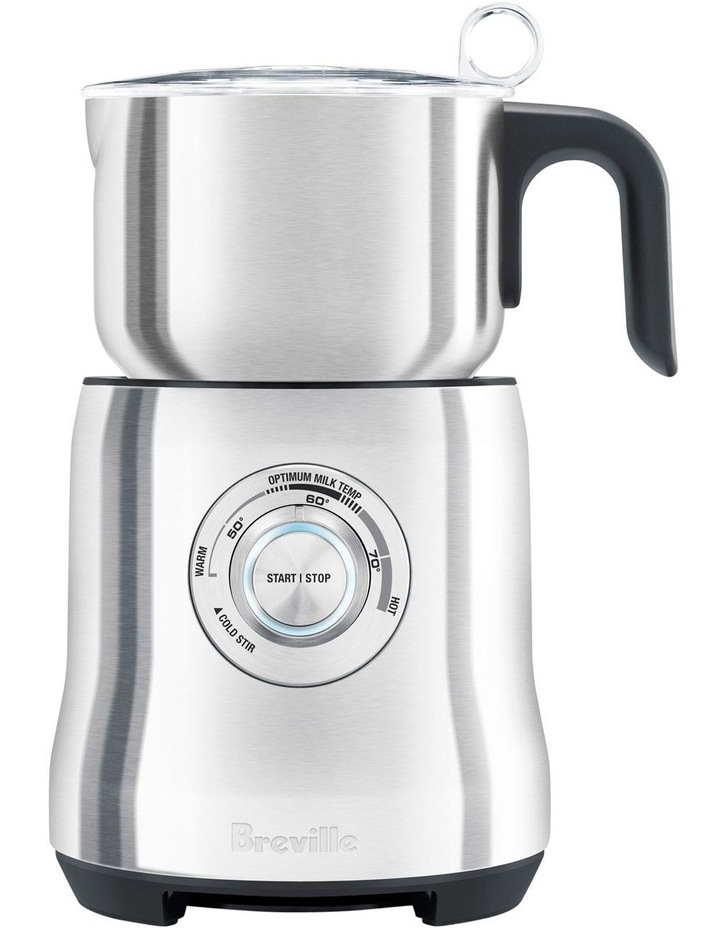 The Milk Cafe Milk Frother in Brushed Stainless Steel BMF600BSS image 1