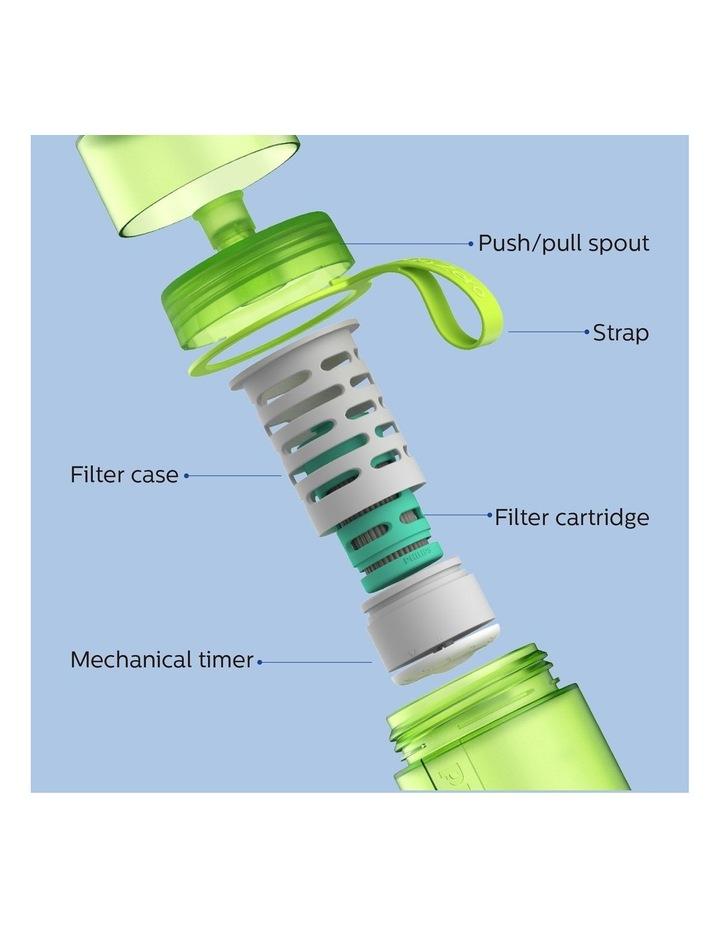 GoZero Active Bottle with Adventure Filter 590ml Lime AWP2722LIR/79 image 2