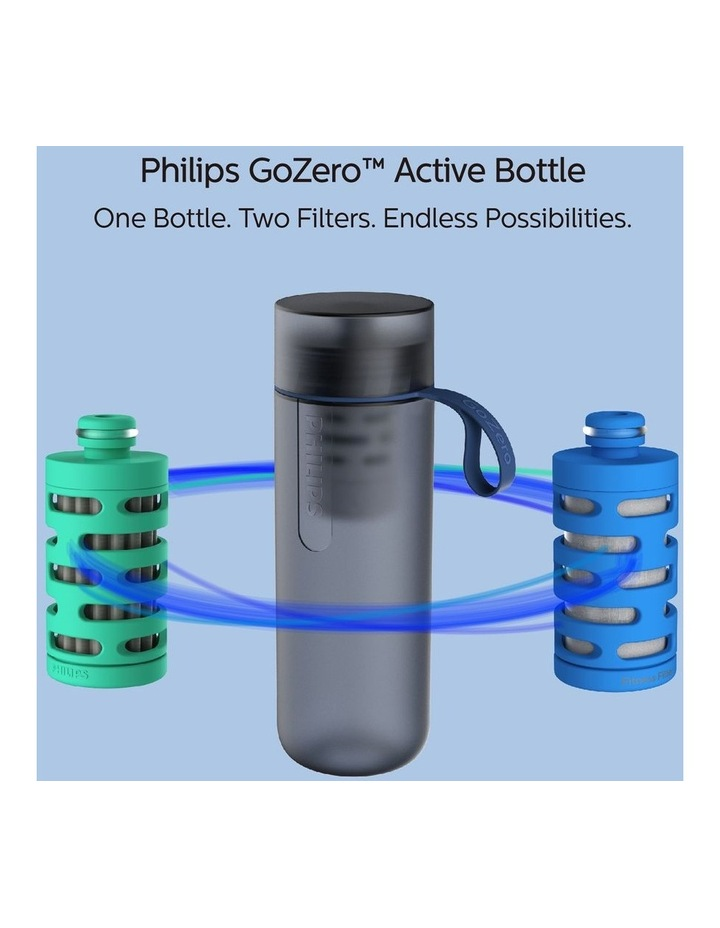 GoZero Active Bottle with Fitness Filter 590ml Blue AWP2712BLR/79 image 4