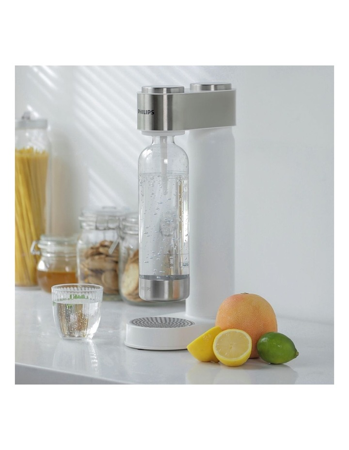 GoZero Soda & Sparkling Water Maker White ADD4902WH/79 image 6