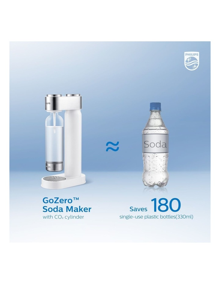GoZero Soda & Sparkling Water Maker White ADD4902WH/79 image 7
