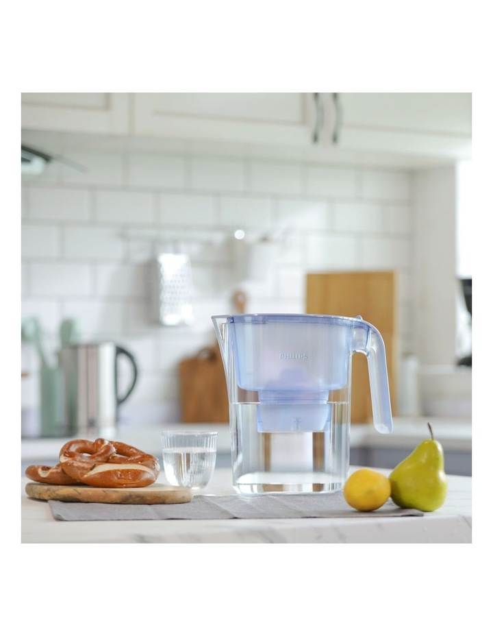 Water Filter Jug with Micro X-Clean Filter Large 3.0L Blue AWP2936BLT/79 image 4