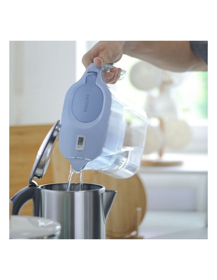 Water Filter Jug with Micro X-Clean Filter Large 3.0L Blue AWP2936BLT/79 image 5