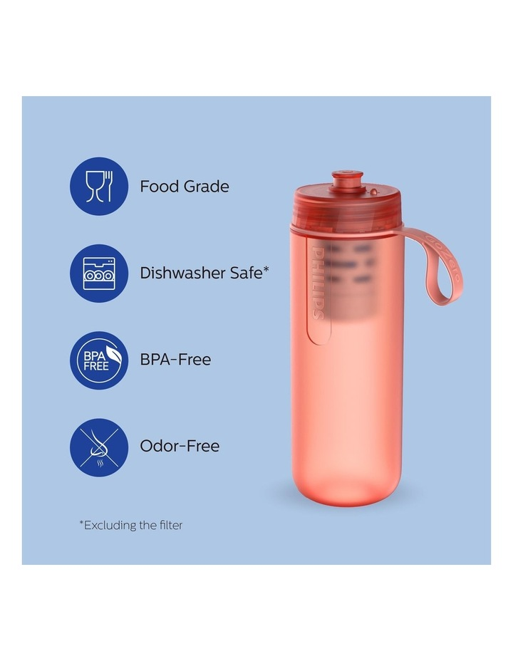 GoZero Active Bottle with Fitness Filter 590ml Red AWP2712RDR/79 image 3