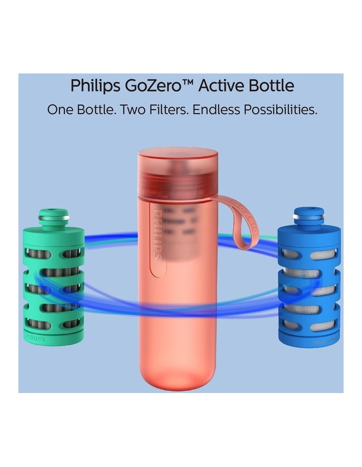 GoZero Active Bottle with Fitness Filter 590ml Red AWP2712RDR/79 image 4