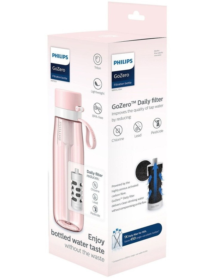 Daily Straw 660ml Filtration Bottle in Pink   Daily Filter AWP2731PNR/79 image 3