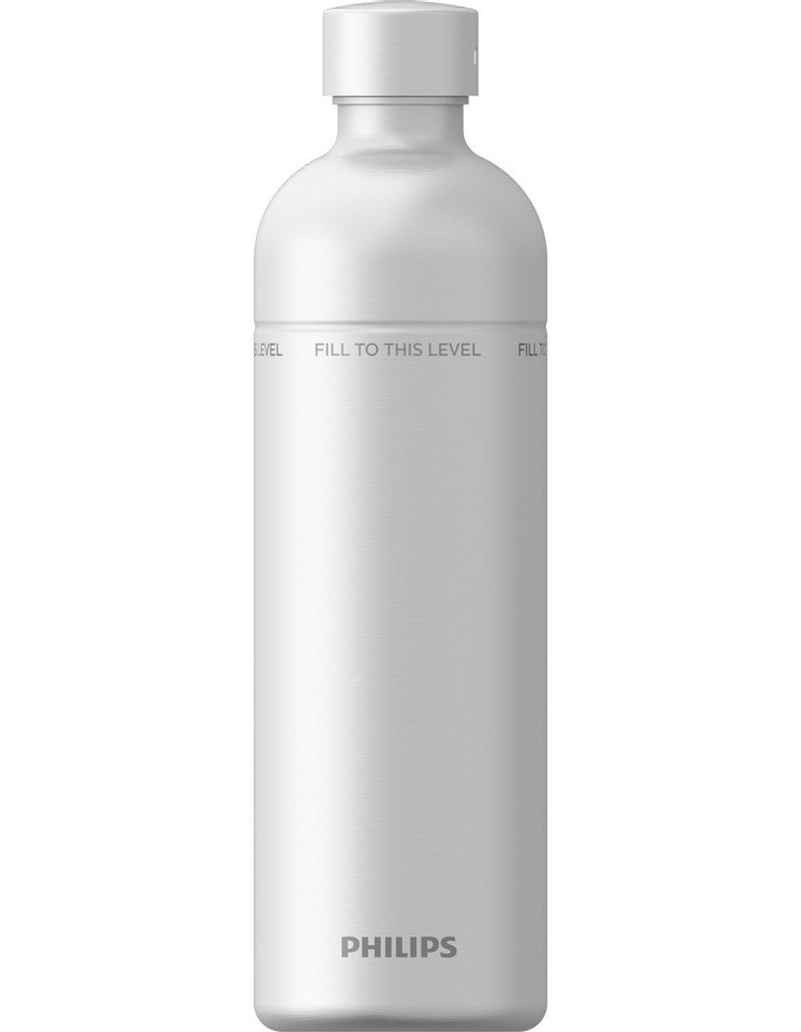 Philips 1L Carbonating Bottle Silver Stainless Steel  ADD917SST/79 image 1