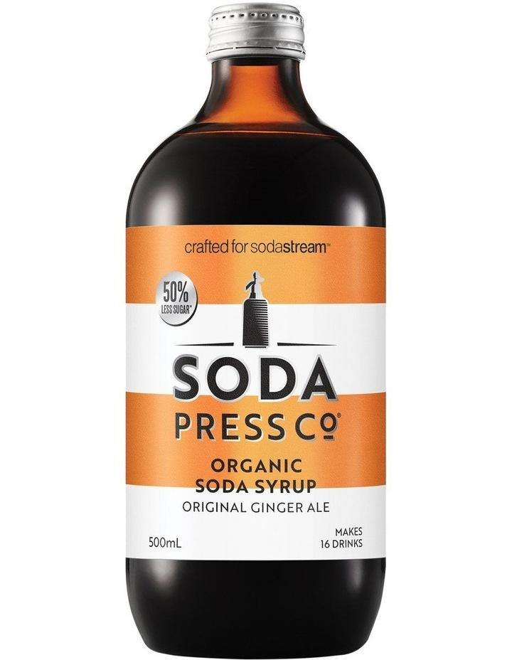 Ginger Ale Organic Soda Syrup image 1