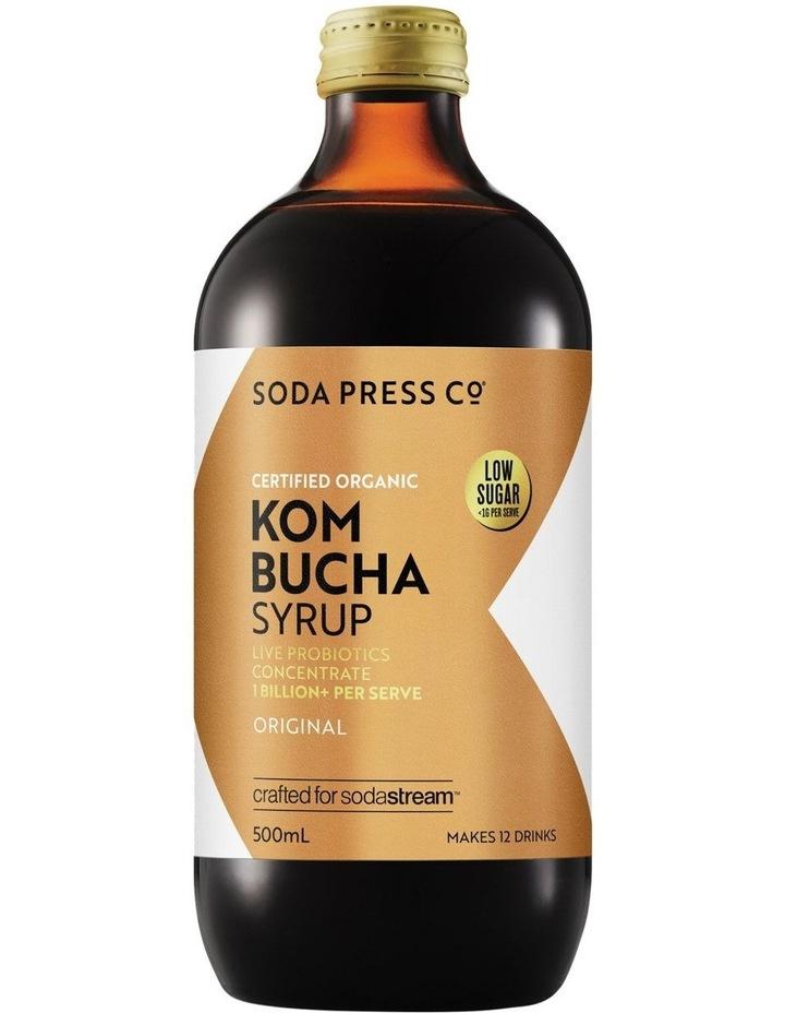 Kombucha Organic Soda Syrup image 1