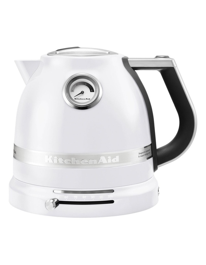 Pro Line 1.5lt Electric Kettle: Frosted Pearl image 1