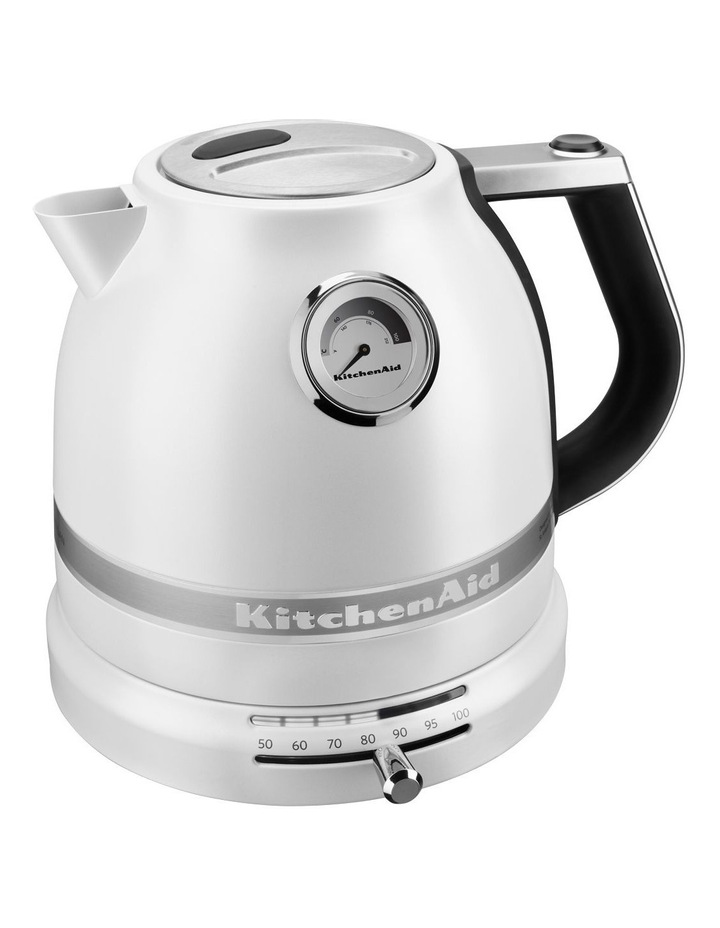 Pro Line 1.5lt Electric Kettle: Frosted Pearl image 2