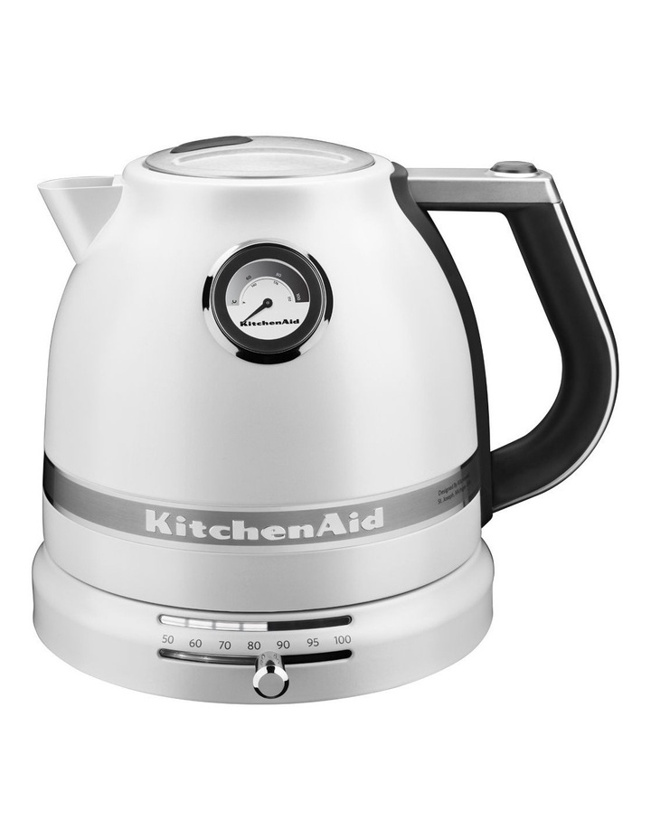 Pro Line 1.5lt Electric Kettle: Frosted Pearl image 4