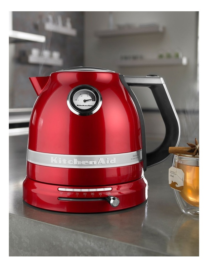 Pro Line 1.5lt Electric Kettle: Candy Red image 9
