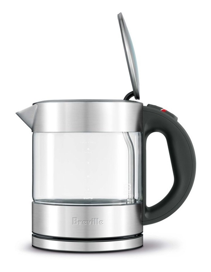 the Compact Kettle Clear Glass/Brushed Stainless Steel BKE395BSS image 3