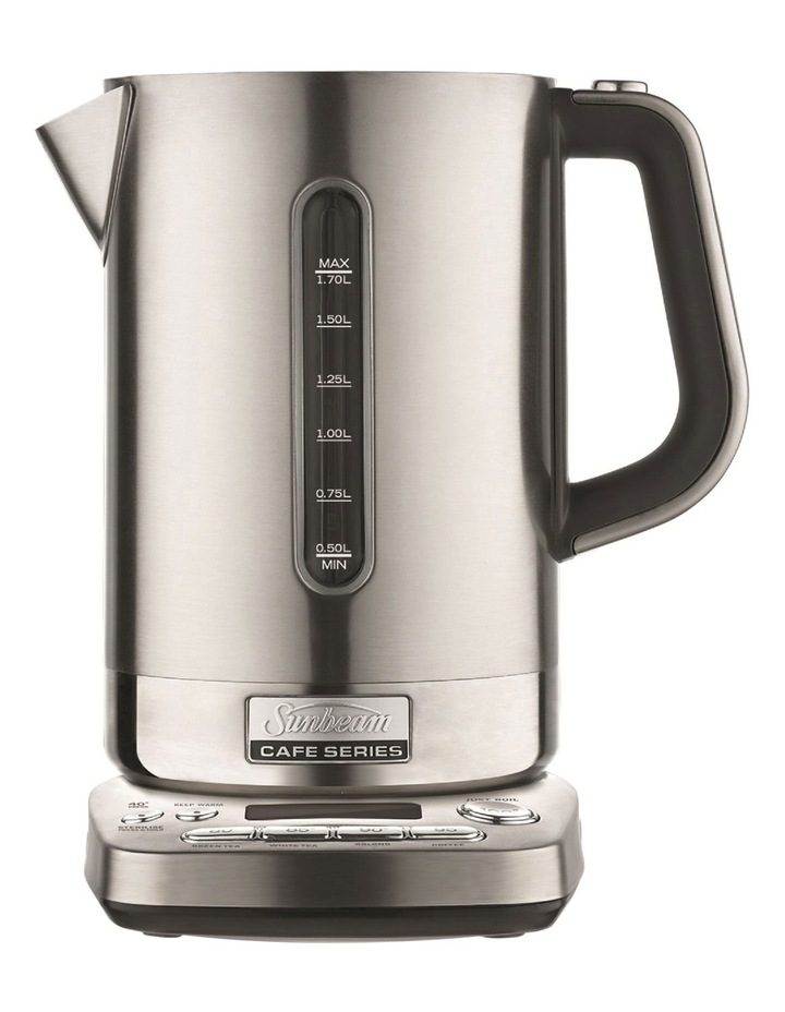 KE9650 Cafe Series QT Kettle: Stainless Steel image 1