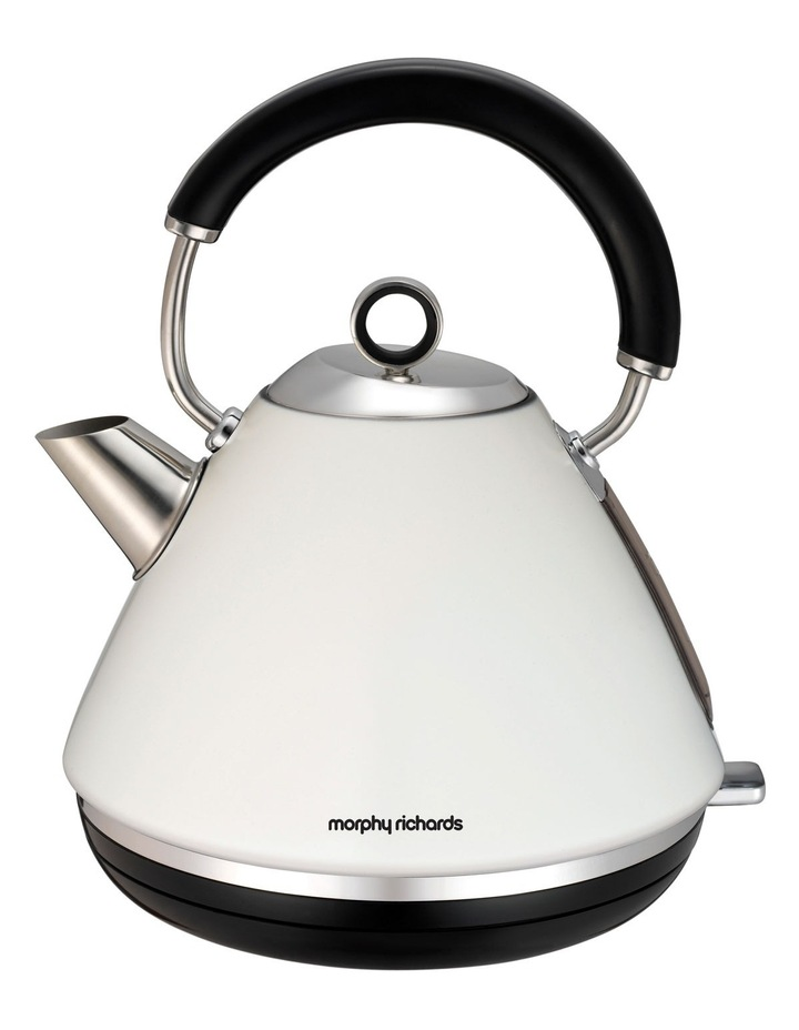 102005 Accents Traditional Pyramid Kettle: White image 1