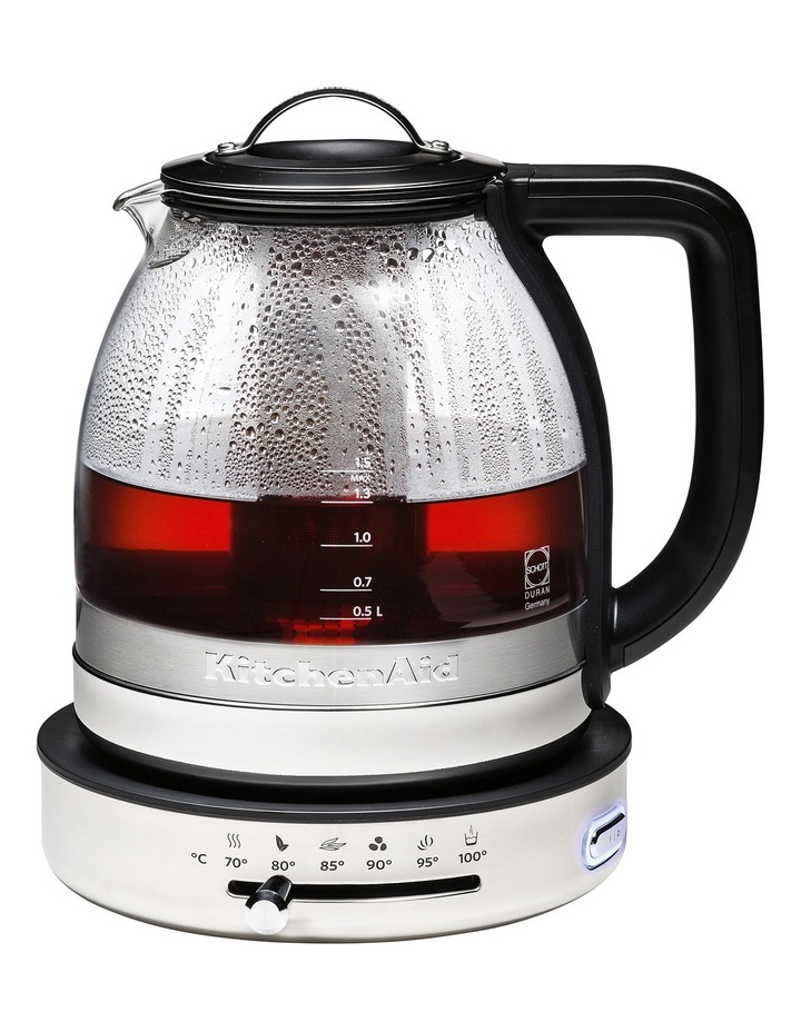 Glass Kettle with Stainless Steel KEK1322 image 3
