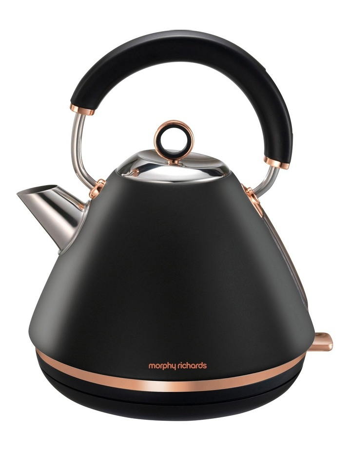 Accents Traditional Pyramid Kettle Rose Gold Black 102107 image 1