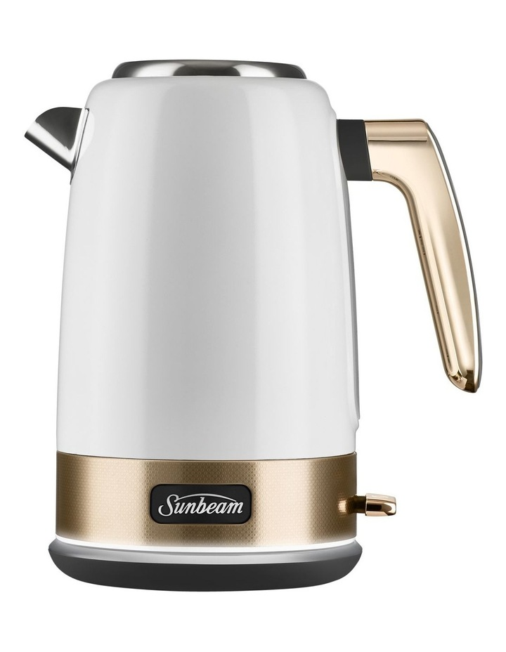 New York Jug Kettle: White/Gold KE4430 image 1