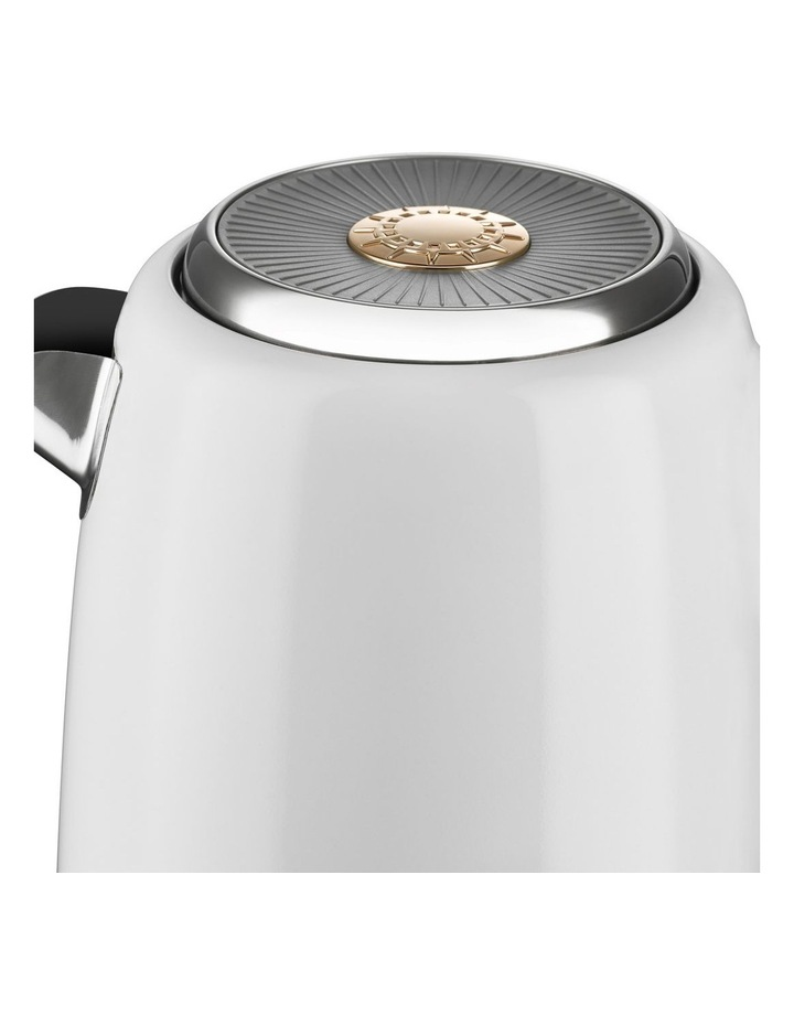 New York Jug Kettle: White/Gold KE4430 image 3