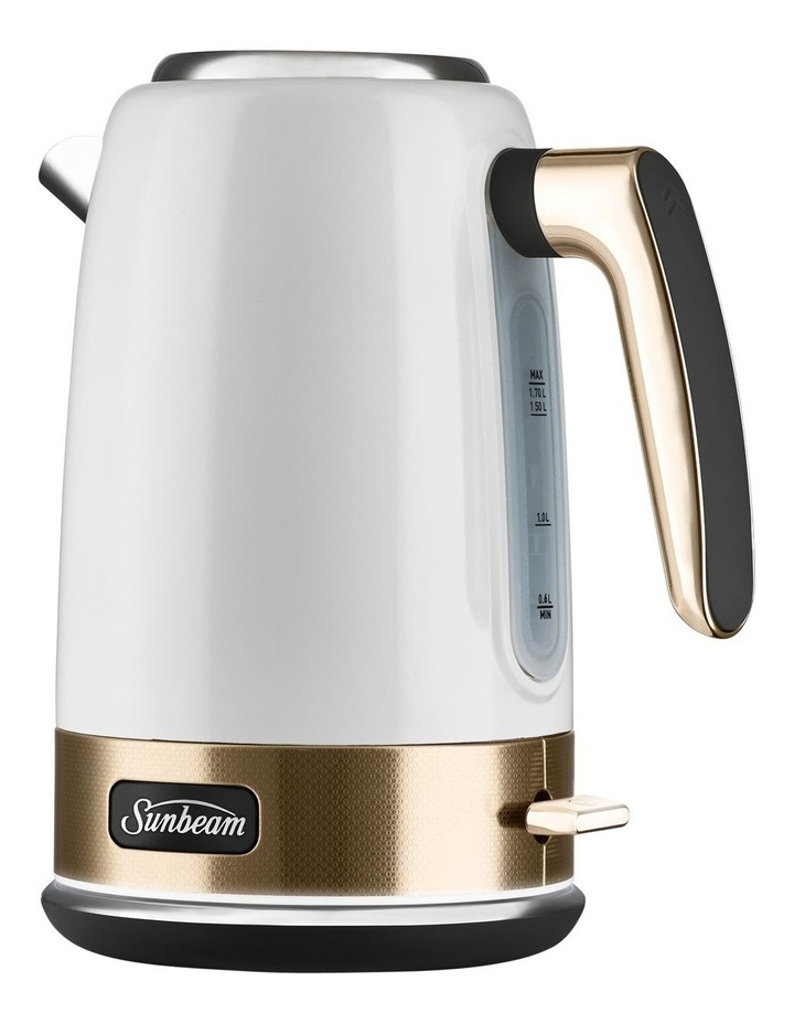 New York Jug Kettle: White/Gold KE4430 image 5