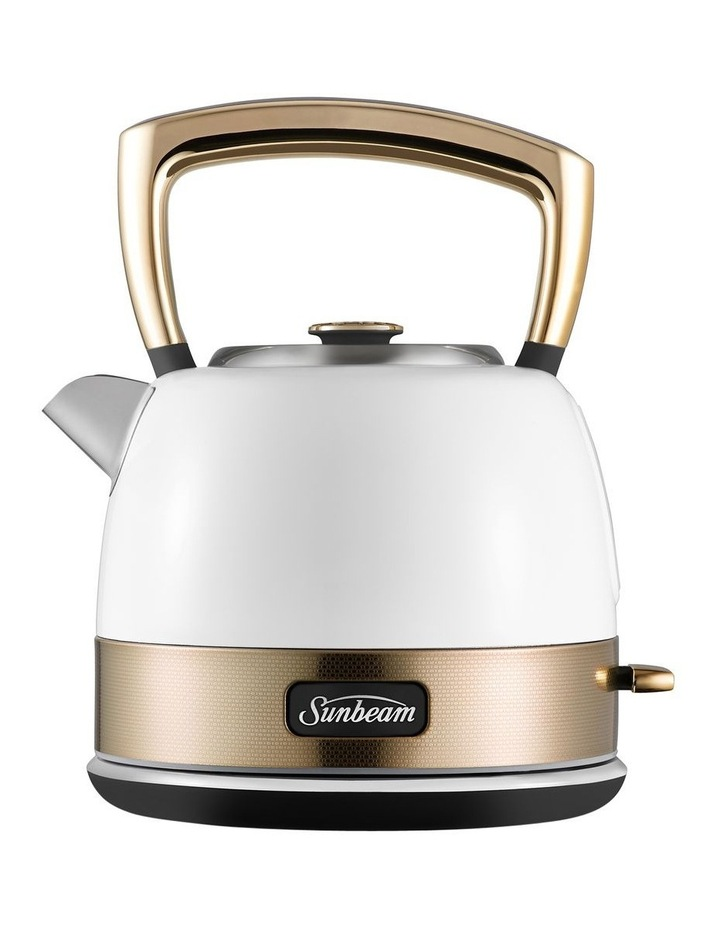 New York Pot Style Kettle - White Gold image 1