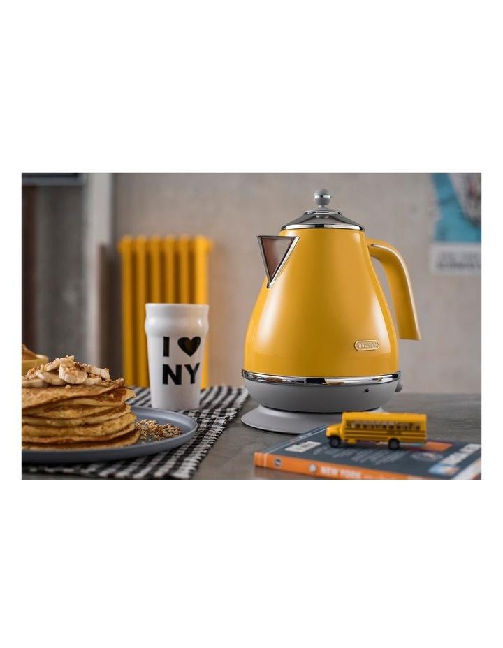 Icona Capitals New York Kettle: Yellow KBOC2001Y image 3