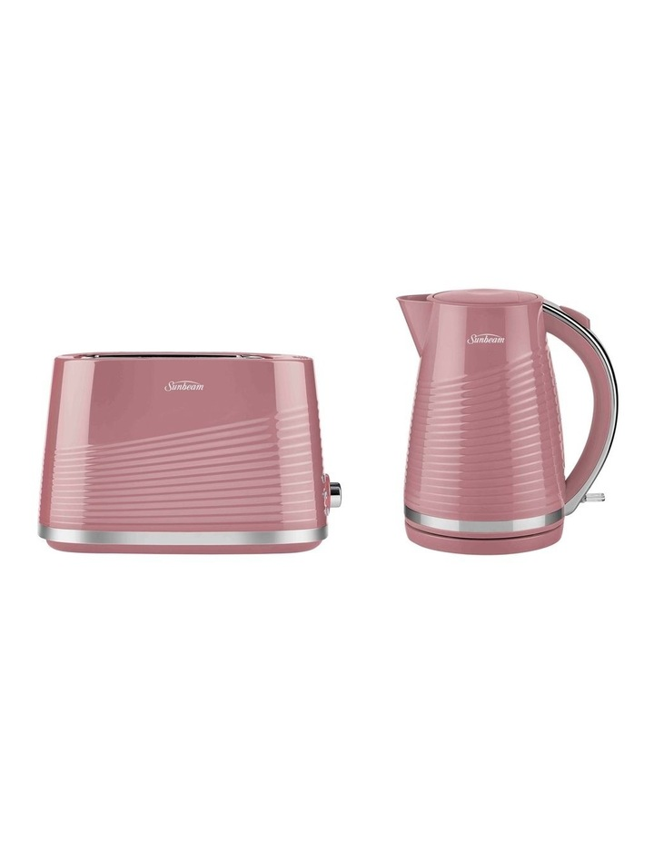Curve All Sorts Kettle & Toaster Breakfast Set Dusty Rose PUP2000PK image 1