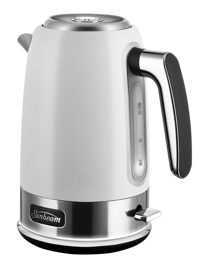 New York Collection Jug Kettle White Silver KE4430WS image 3