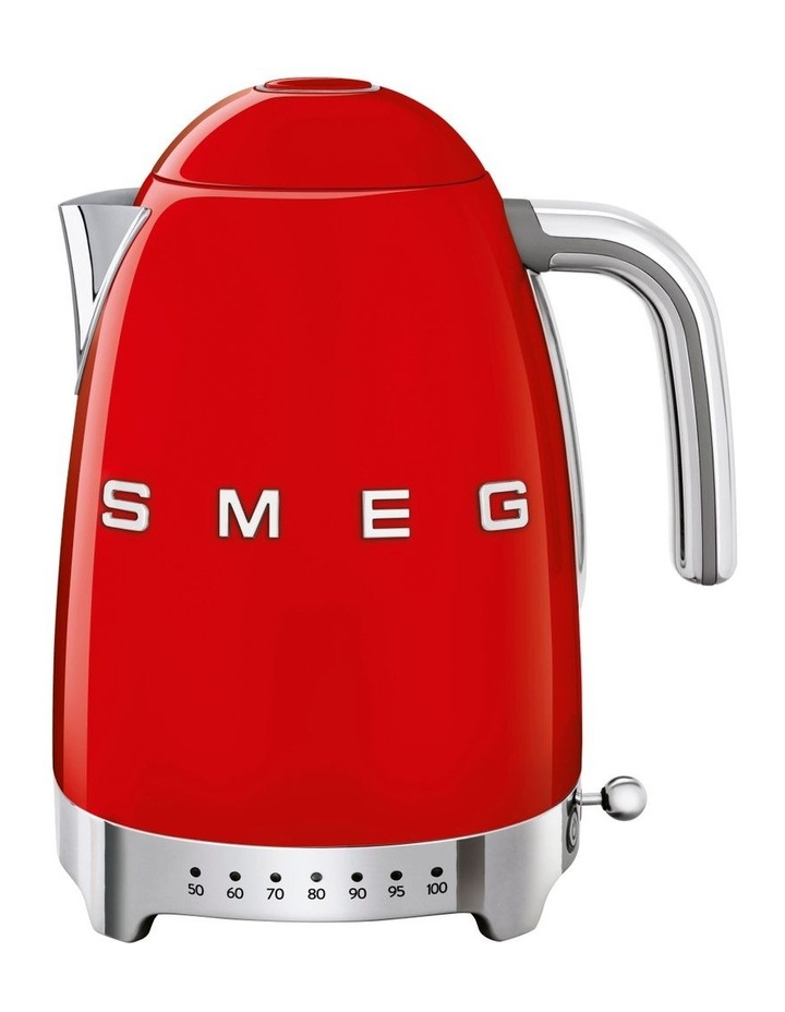 50's Style Variable Temperature Kettle Red KLF04RDAU image 1