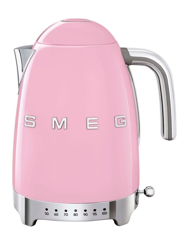 50's Style Variable Temperature Kettle Pink KLF04PKAU image 1