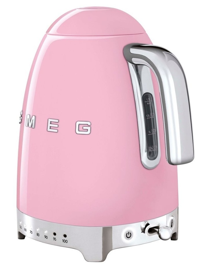 50's Style Variable Temperature Kettle Pink KLF04PKAU image 3