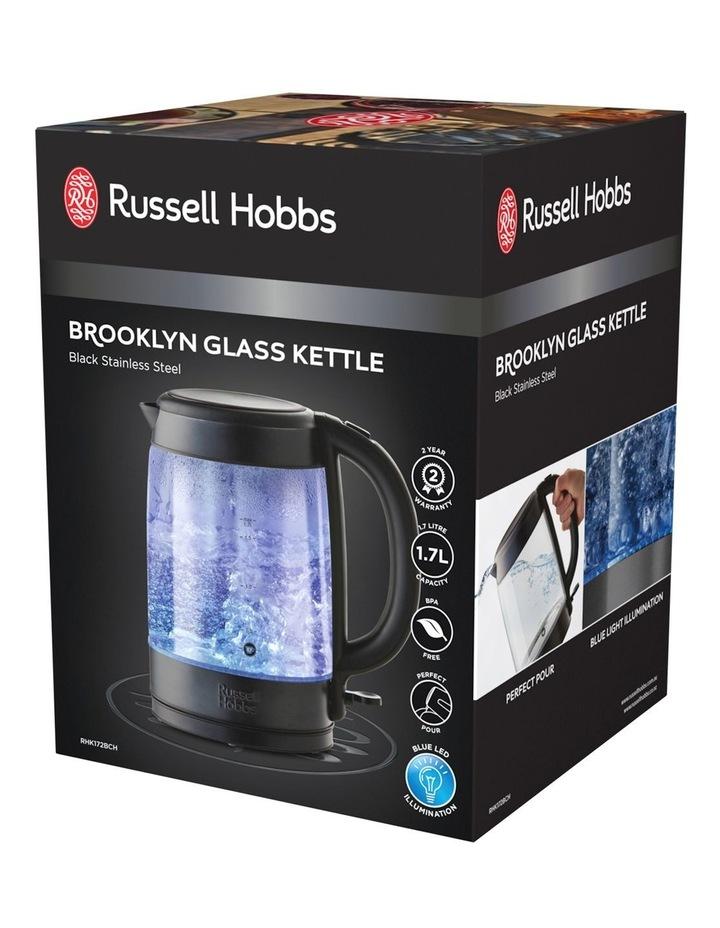 Brooklyn Glass Kettle Black Stainless Steel RHK172BCH image 7