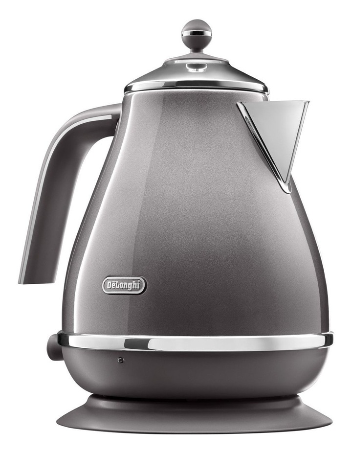 Icona Metallics kettle Pewter Grey KBOT2001GY image 1