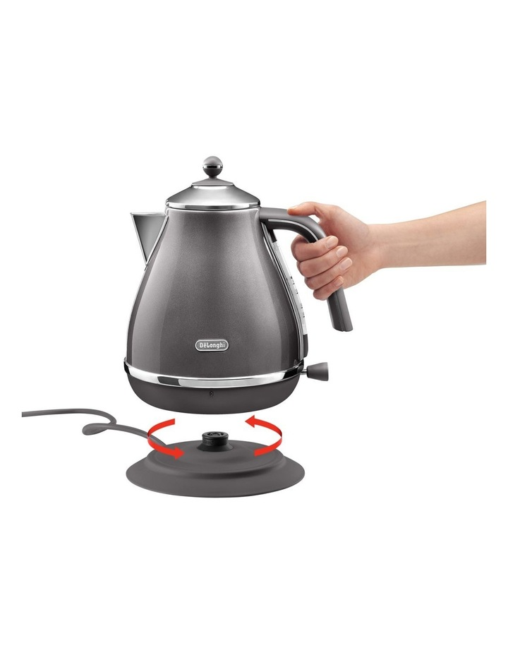 Icona Metallics kettle Pewter Grey KBOT2001GY image 3