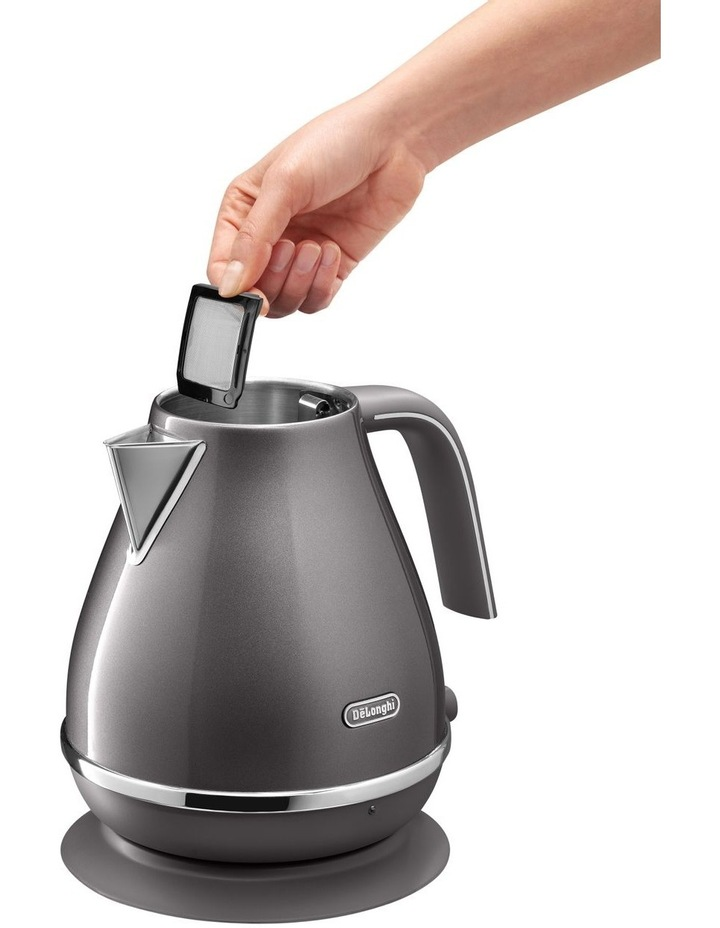 Icona Metallics kettle Pewter Grey KBOT2001GY image 4