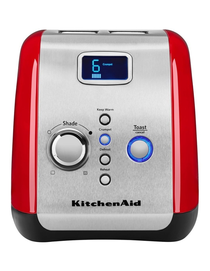 2 Slice Artisan Automatic Toaster Empire Red 5AKMT223ER image 1
